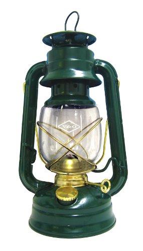 Glo Brite by 21st Century 210-76040 Centennial Gold Trim Oil Lantern, Green by 21ST CENTURY INC