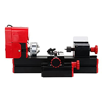 Iglobalbuy Mini Multipurpose Machine 6 In 1 Kit Wood Soft Metal Woodworking DIY Tool Lathe