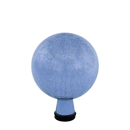 Achla Designs 6-Inch Crackle Gazing Globe Ball, Blue Lapis