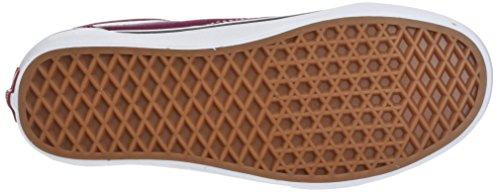 Classic Vans Shoes White Skate Old Skool Burgundy Unisex True Ann6SUqZ