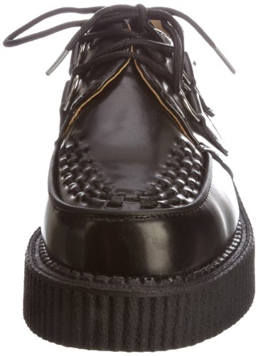 Mixte Noir Tuk Creeper black Sole Interlace Lo Adulte Baskets black Leather Mode x4gg0Xrqw