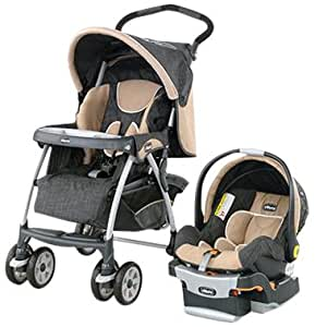 Chicco Cortina Keyfit 30 Travel System, Hazelwood (Discontinued by Manufacturer)