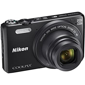 Nikon Coolpix S7000 16 MP Digital Camera with 20x Optical IS Zoom, 3-Inch LCD, Black (Certified Refurbished)