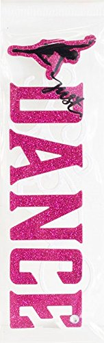 Dance Sticker Title with Bling Scrapbooking