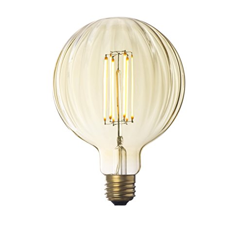 Large Clear Glass Globe Pendant Light in US - 3