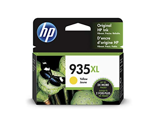 HP 935XL | Ink Cartridge | Yellow | C2P26AN (Hp Printer Cartridge 935)