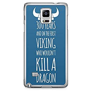 Loud Universe Viking Samsung Note 4 Case How to train your dragon Samsung Note 4 Cover with Transparent Edges