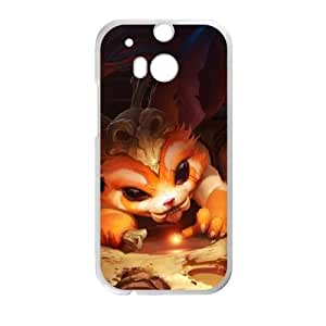 HTC One M8 Cell Phone Case White League of Legends Gnar 0 KWI8908023KSL