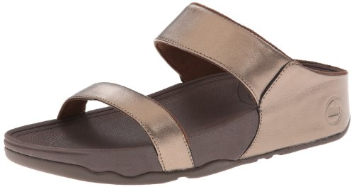 FitFlop Lulu - Sandalias para mujer (Bronze) Metálico, talla 42