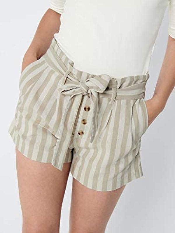 ONLY Onlnew SMILLA Stripe DNM Shorts YO, Clo: MainApps: Odzież