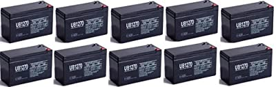 Replacement for GS Portalac PX12072 Battery - UPG UB1270 - 10 Pack