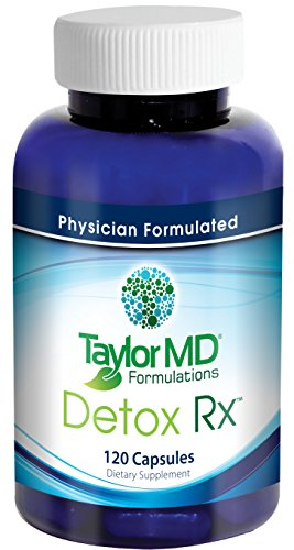 Detox Rx – Healthy Anti-inflammatory, Detoxification Supplement, Hormone & Liver Support, Weight Management Supplement - Physician Formulated Clinically Tested – Best for Men & Women Health Management with No Side Effects - Guaranteed By Taylor MD For by Taylor MD