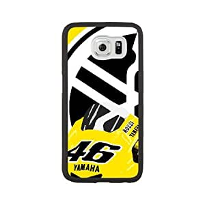 Fashion Style for Samsung Galaxy S6 Cell Phone Case Black valentino rossi logo Phone case MAP9726803