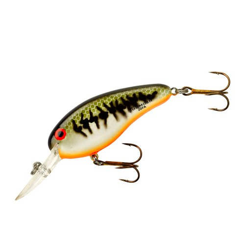 Bomber Flat A Fishing Lure (Baby Bass/ Orange Belly, 2 1/2-Inch, - Model Lures Bomber