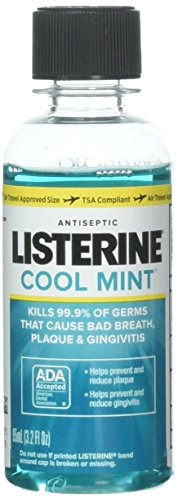 Listerine Antiseptic Mouthwash, Cool Mint 3.2 oz (Pack of 10) by Listerine (Image #3)