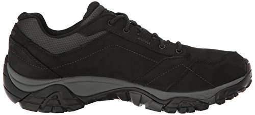 Men Merrell Hiking Black Boots Low Black Adventure Moab Rise Lace Black d4OA14