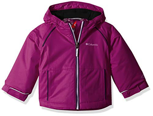 Columbia Toddler Girl's Alpine Action Ii Jacket, 2T, Bright Plum