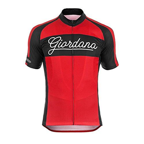 Giordana Endurance Conspiracy Bomber Vero Jersey - Short Sleeve - Men s  Red Black 32a556db5