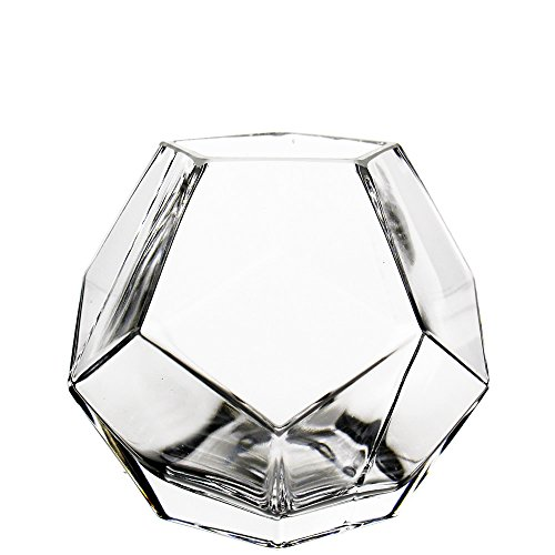 Crystal Modern Vase (CYS Geometric Vase, Prism Vase, Honeycomb Vase. H-6