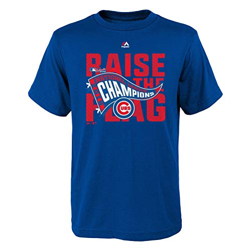Chicago Cubs Blue 2016 National League Champions