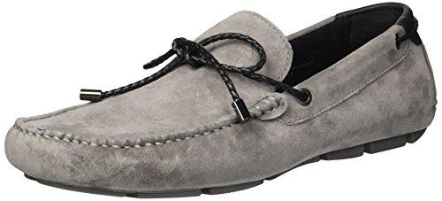 Kenneth Cole New York Men's Engle Slip ON Loafer, Light Grey, 7.5 M US