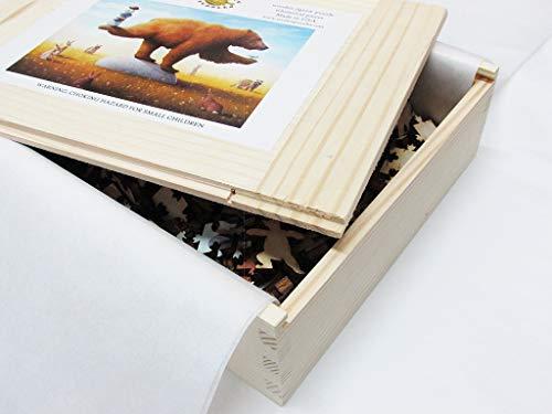 Artifact Puzzles - Paul Bond The Yogi Wooden Jigsaw Puzzle
