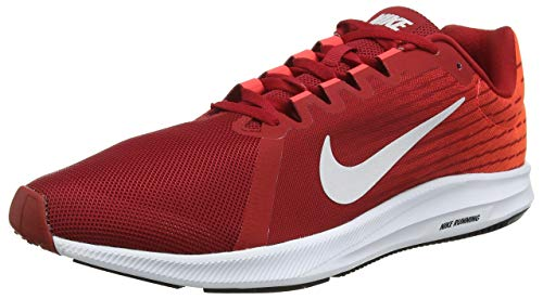 Vast NIKE 8 Gym Shoes 's Running 601 Downshifter Bright Red Red Men Crimson Grey pqrWzTpwgF