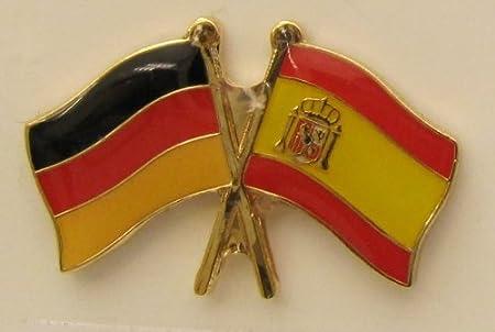 España/Alemania celtas Pin Bandera Bandera de RT5053 Bandera Pin Badge Button Banderas Andrés: Amazon.es: Hogar