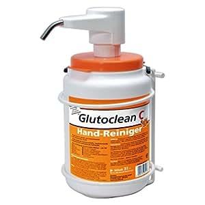 Glutoclean–C dosificadora dispensador + Soporte para Mano Limpiador 3L
