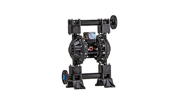 Viton Diaphragm 1 Non-Metallic Polypropylene Body 50 GSM Maximum Flow Rate Max 50 GPM Polypropylene 1 Non-Metallic Price Pump AOD1-PVVP Air Operated Diaphragm Pumps Viton Balls Polypropylene Seat