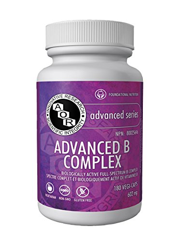 AOR - Advanced B Complex - 180 Vcaps by AOR