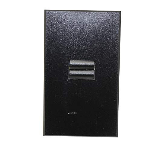 Lutron QSWS2R-2BN-BL Black Seetouch-QS 2-Button FacePlate/Button Kit for Wall Station