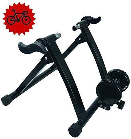 Entrenador turbo magnético - Entrenador bicicleta plegable Soporte ...