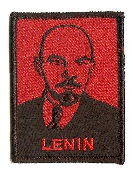 David Cherry Artist Patch - Lenin Face - RARE! by FD