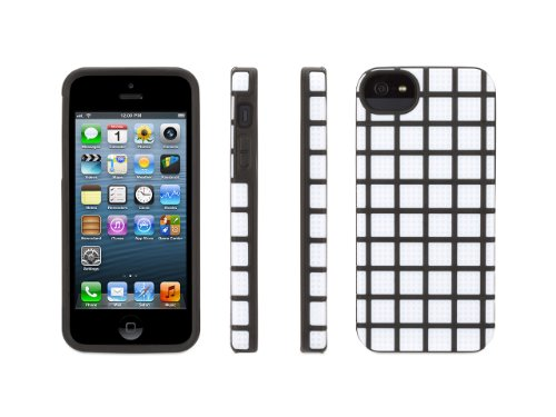 Griffin White MeshUps Silicone + Polycarbonate Case for iPhone 5