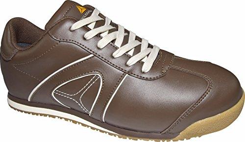 Delta plus calzado - Juego zapato piel flor marron talla 41(1 par)