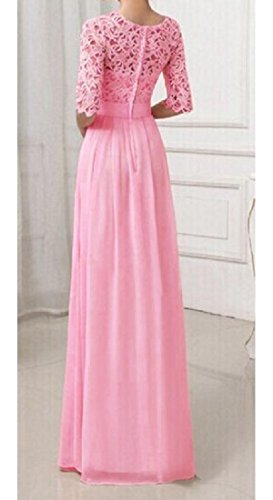 Flared Party Stitching Red Line Rose Pure Coolred Womens' A Dress Swing Color Lace YqCCOX