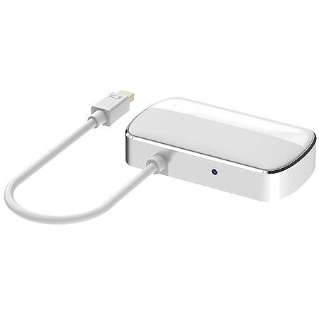 QLPP 2 en 1 Puerto de Pantalla Mini DP a HDMI Adaptador VGA Cable ...