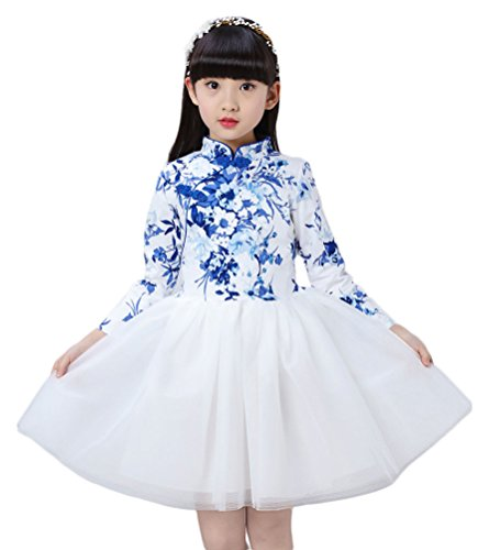 Soojun Sleeve Button Cheongsam Chinese