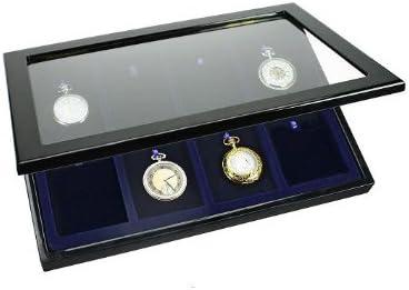 Caja guarda relojes de bolsillo PHASE 8: Amazon.es: Hogar