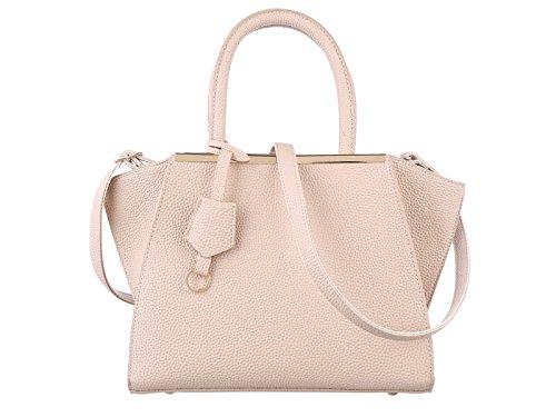 Valentine's Sale TZECHO Women Top Handle Satchel Handbags,Zip Closure Tote Shoulder Bag,TZA010