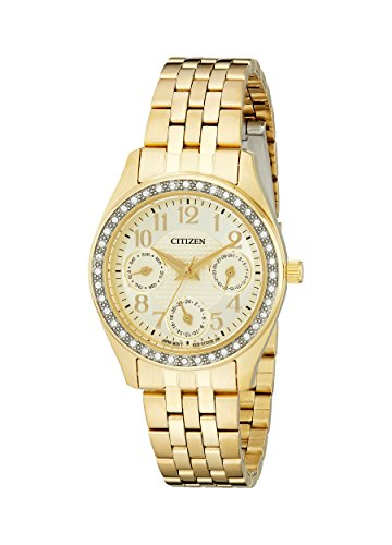 Citizen Women's ED8132-55P Analog Display Japanese Quartz Gold Watch