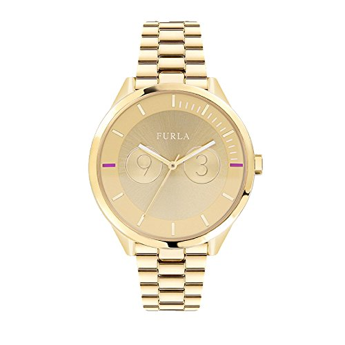 Furla Metropolis Watch R4253102504 Golden Woman