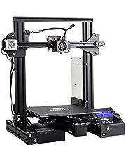 طابعة عالية الدقة ثلاثية الابعاد طراز 3 دي اندر- 3 برو من كريلتي يمكنك تشكيلها بنفسك مع قاذف MK-10 وتقنية استئناف الطباعة، تطبع مقاسات 220×220×250 ملم للاستخدام في المنزل والمدرسة