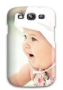 New Style New Arrival Cover Case With Nice Design For Galaxy S3- Cute Baby With Hat