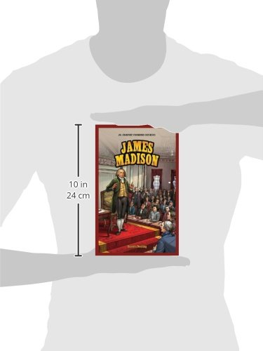 James Madison (Jr. Graphic Founding Fathers) by Powerkids Pr (Image #1)