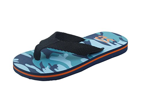 - Sunville Starbay Kid's Slip-On Flip Flop (12, Navy)