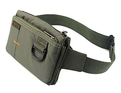 Tsptool Sport Polyester Stealth Small Running Waist Bag (deep green)