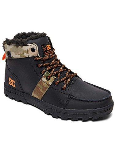 MOD Senza Imbottitura Nero a Corta Multi Woodland Uomo Shoes M Classics Stivaletti Black Gamba DC xfzv0q7n