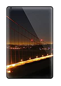Ipad Mini 2 Case Slim [ultra Fit] Golden Gate Bridge Protective Case Cover 3616184J58301293